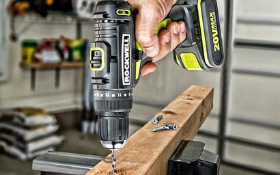 Rockwell Brushless Drill Driver and Impact Driver