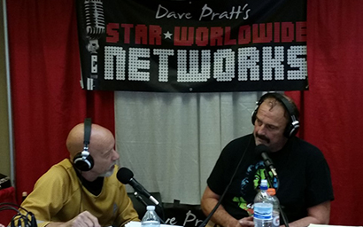 Steve Deubel interviews Jake The Snake Roberts