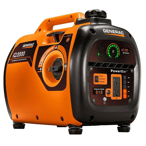 A Day with the Generac iq2000 Portable Generator